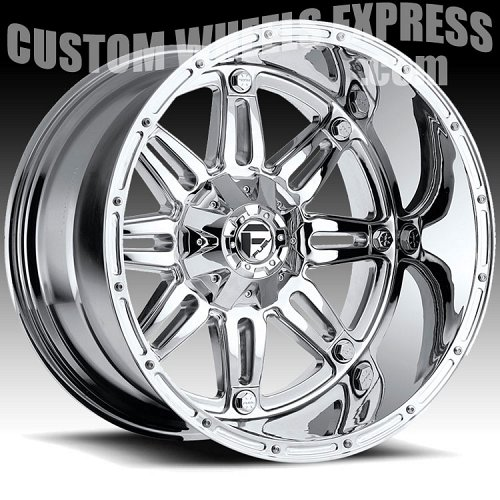 Fuel Hostage D530 Chrome Truck Wheels Rims 2