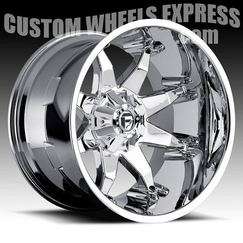 Fuel Octane D508 Chrome Truck Wheels Rims 2