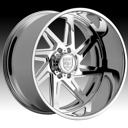 Gear Forged F72P2 Polished Custom Wheels Rims 1