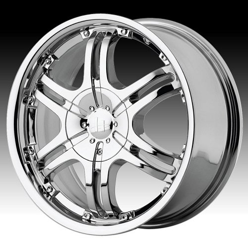 Helo HE832 832 Chrome Custom Rims Wheels 1