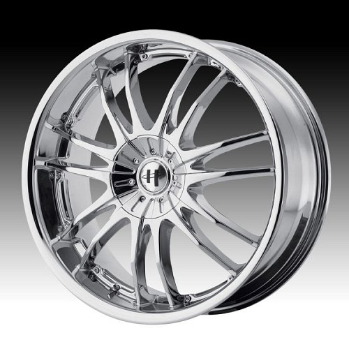 Helo HE845 845 Chrome Custom Rims Wheels 1