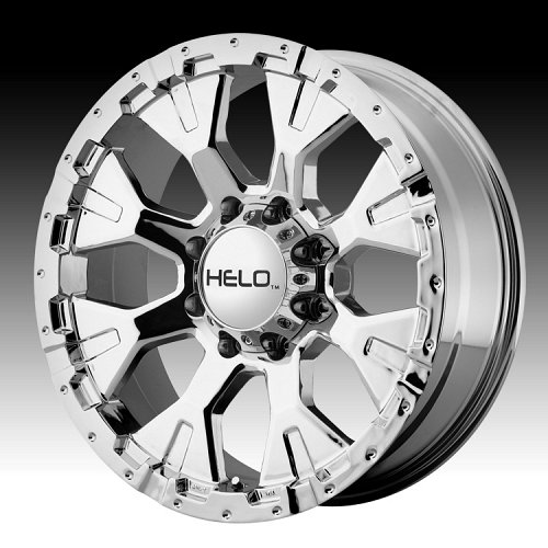 Helo HE878 Chrome Custom Rims Wheels 1