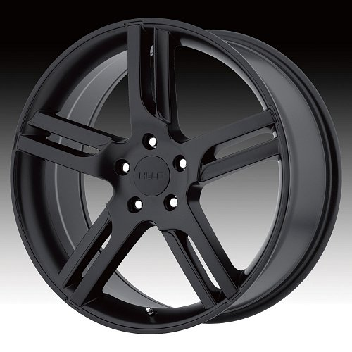 Helo HE885 Satin Black Custom Rims Wheels 1