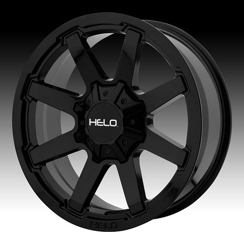 Helo HE909 Gloss Black Custom Wheels Rims 1