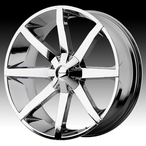 KMC Slide RWD KM651 651 Chrome Custom Rims Wheels 1