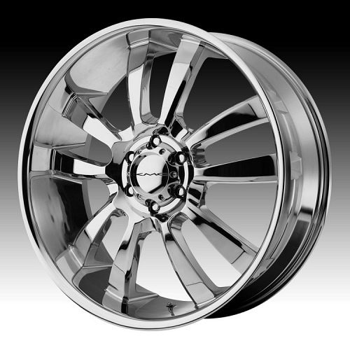 KMC Skitch RWD KM673 673 Chrome Custom Rims Wheels 1