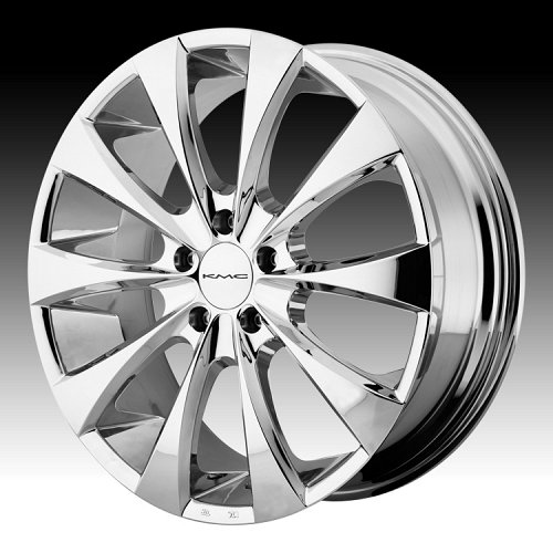 KMC Fader KM679 Chrome Custom Rims Wheels 1