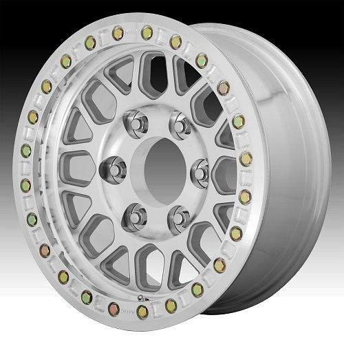 KMC KM234 Grenade Desert Beadlock Machined Custom Wheels Rims 1