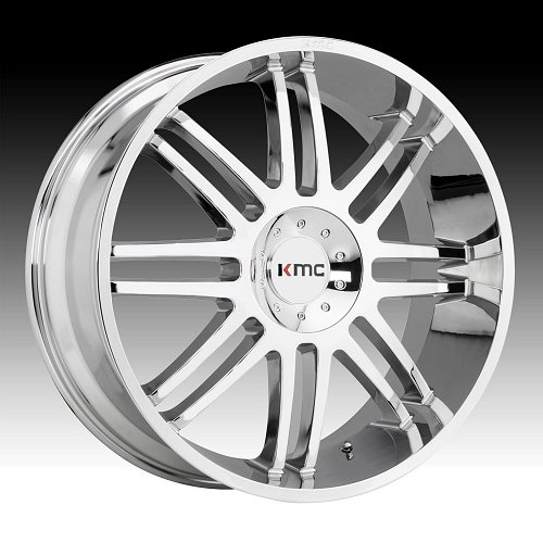 KMC KM714 Regulator Chrome Custom Wheels Rims 1