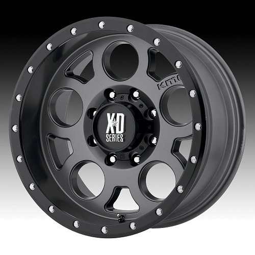 KMC XD Series XD126 Enduro Pro Satin Gray Custom Wheels Rims 1