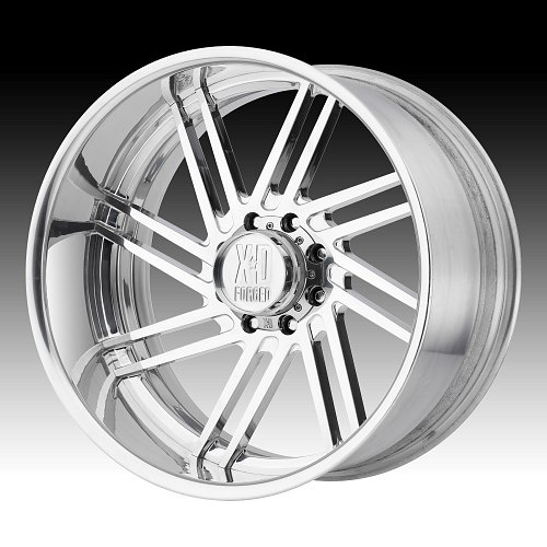 KMC XD406 Fringe Polished Forged Custom Wheels 1