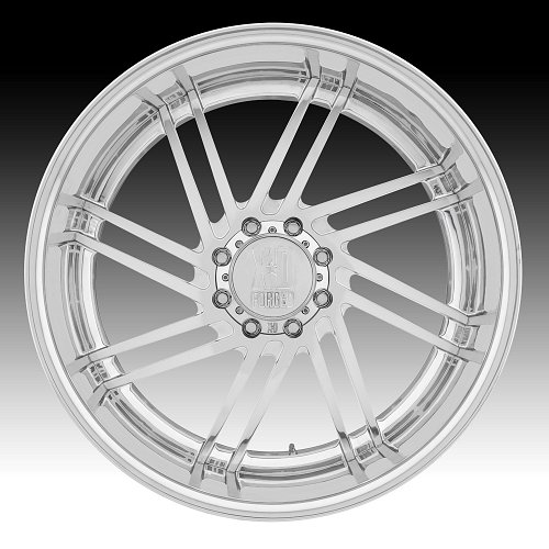 KMC XD406 Fringe Polished Forged Custom Wheels 2