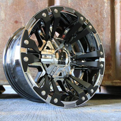 KMC XD Series XD822 Monster II Chrome Custom Wheels Rims 2