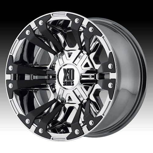 KMC XD Series XD822 Monster II Chrome Custom Wheels Rims 1