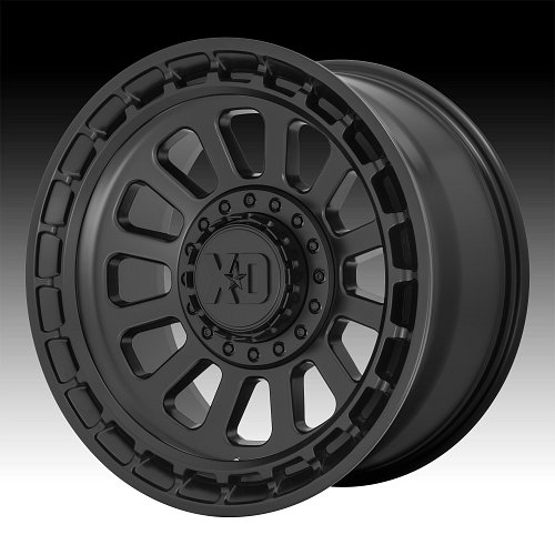KMC XD Series XD856 Omega Satin Black Custom Wheels Rims 1
