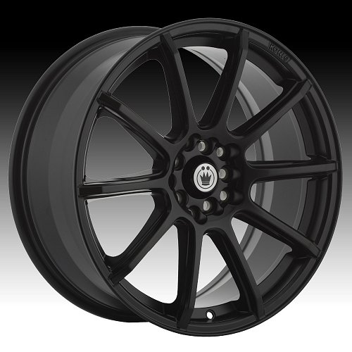 Konig Control CL Matte Black Custom Rims Wheels 1