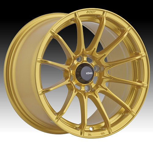Konig Dial-In DI Gold Custom Rims Wheels 1