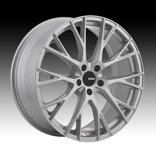 Konig Interflow IT Silver Custom Rims Wheels 1