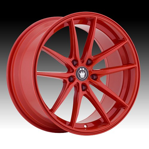 Konig Oversteer OS Red Custom Rims Wheels 1