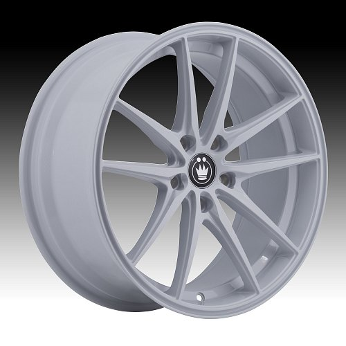 Konig Oversteer OS White Custom Rims Wheels 1