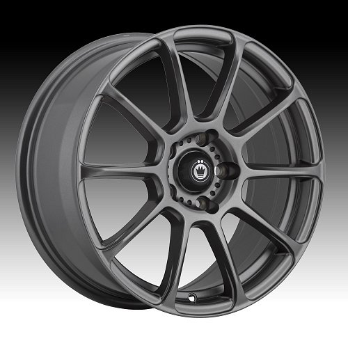 Konig Runlite R1 Matte Grey Custom Rims Wheels 1