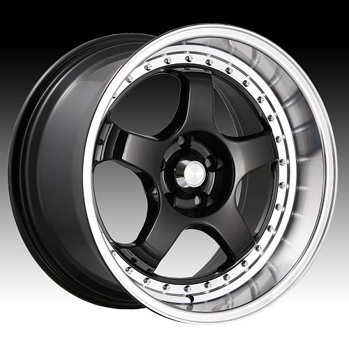 Konig SSM SS Gloss Black Machined Custom Rims Wheels 1