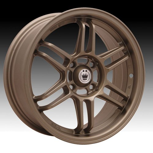 Konig Lightspeed 25BZ LG Matte Bronze Custom Rims Wheels 1