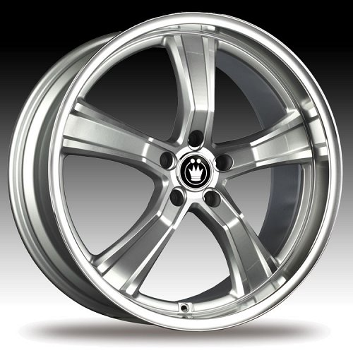 Konig Airstrike 27MS AS Silver w/ Machined Face Custom Rims Wheels 1