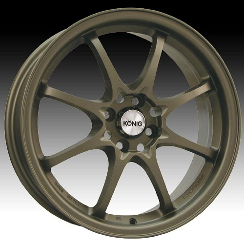Konig Helium 72BZ HE Bronze Custom Rims Wheels 1