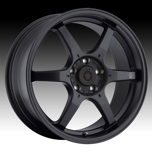 Konig Backbone 30B BC Matte Black Custom Rims Wheels 1