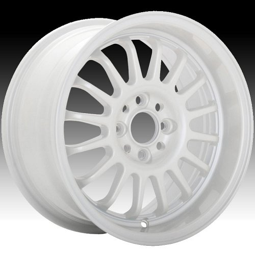 Konig Retrack 20W RK Pearl White Custom Rims Wheels 1