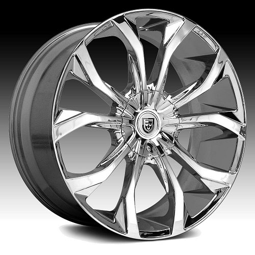 Lexani Lust Chrome Custom Wheels Rims 1