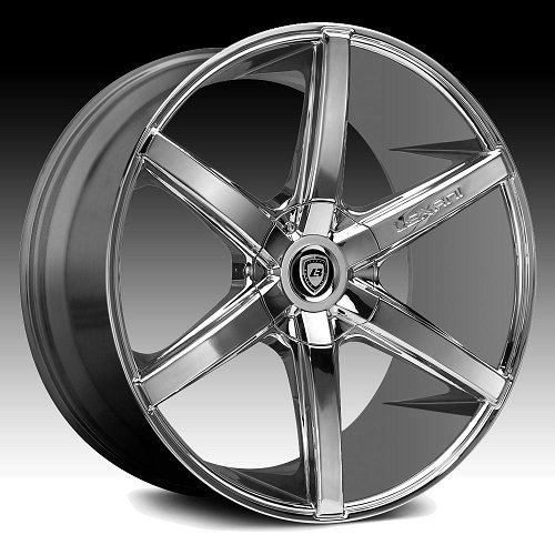 Lexani R-Six Chrome Custom Wheels Rims 1
