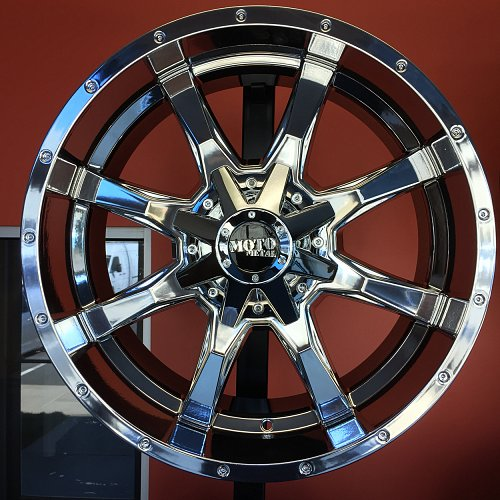 Moto Metal MO970 Chrome PVD Custom Wheels Rims 1
