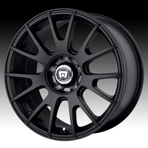 Motegi Racing MR118 118 Matte Black Custom Rims Wheels 1