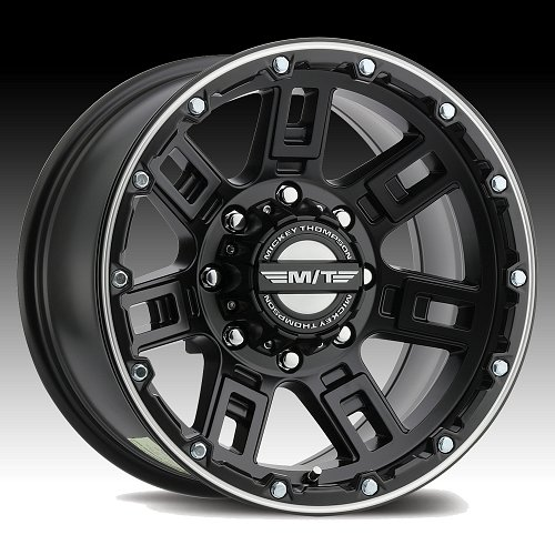 Mickey Thompson Sidebiter Lock Satin Black Wheels Rims 1