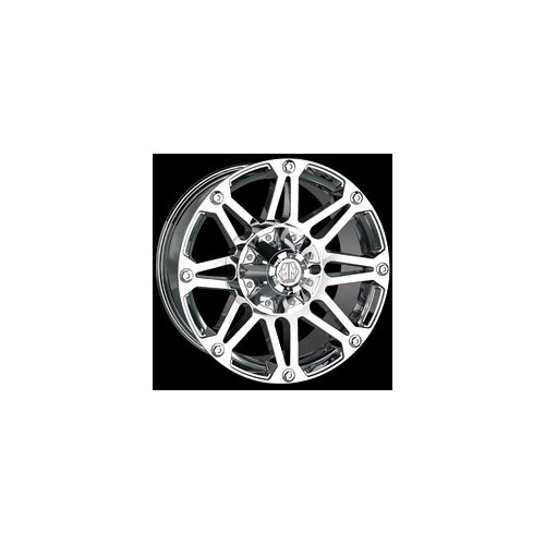 Mayhem Riot 8010 Chrome Custom Wheels Rims 1