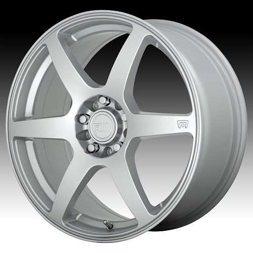 Motegi Racing MR143 CS6 Hyper Silver Custom Wheels Rims 1