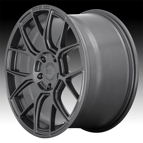 Motegi Racing MR147 CM7 Gunmetal Custom Wheels Rims 1