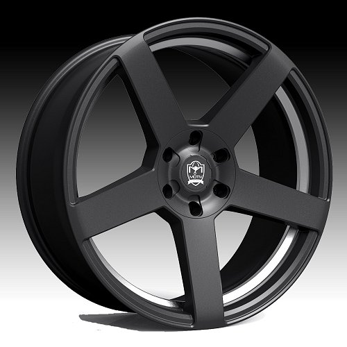 Motiv 416BU Monterey Satin Black Custom Wheels Rims 2