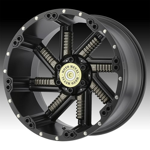 Moto Metal MO979 Buckshot Black Custom Wheels Rims 1