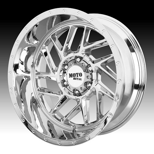Moto Metal MO985 Breakout Chrome Custom Wheels Rims 1