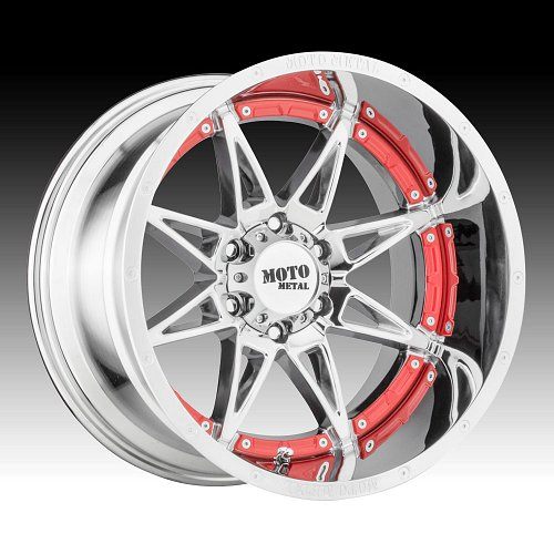 Moto Metal MO993 Hydra Chrome Custom Wheels Rims 1