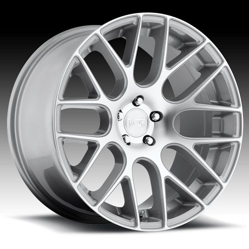 Niche M109 Circuit Machined Silver Custom Wheels Rims 1