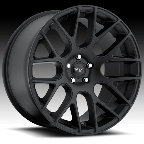 Niche M110 Circuit Matte Black Custom Wheels Rims 1