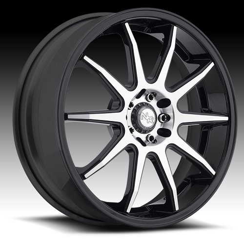 Niche M123 NR10 Matte Black Machined Custom Wheels Rims 1