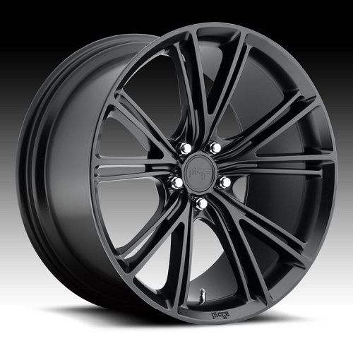 Niche M144 Ritz Black Custom Wheels Rims 1