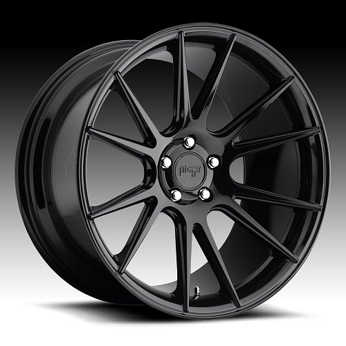 Niche Vicenza M152 Gloss Black Custom Wheels Rims 1