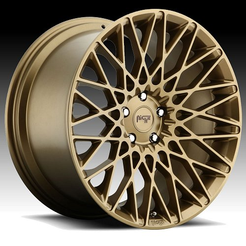 Niche M155 Citrine Bronze Custom Wheels Rims 1