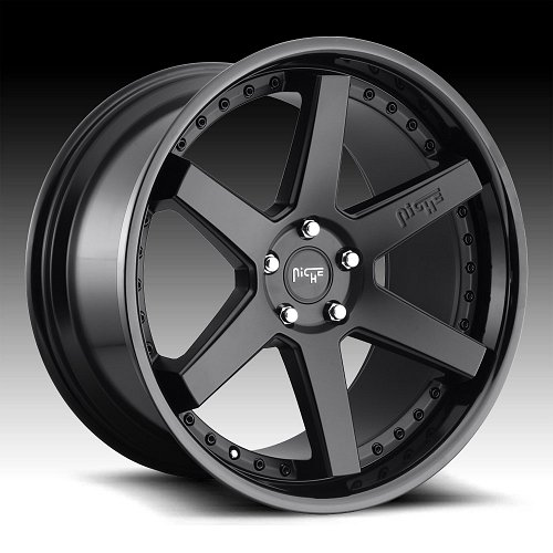 Niche Altair M192 2-Tone Black Custom Wheels Rims 1